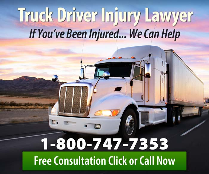 Truck Driver Injury Lawyer
